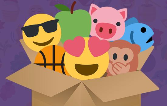 emoji portfolio 550x350